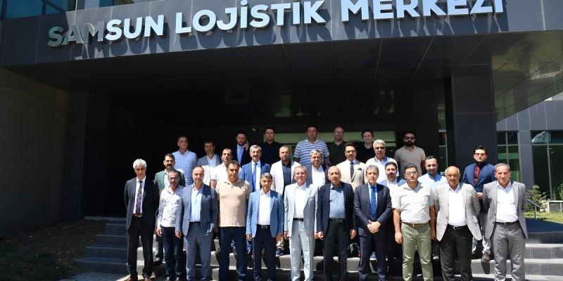 Diyarbakır'da Çalışmaları Devam Eden Lojistik Merkez İçin Başarılı Modeller Yerinde İncelendi